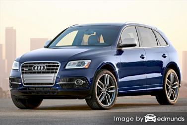 Insurance rates Audi SQ5 in Toledo
