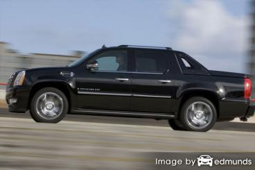 Discount Cadillac Escalade EXT insurance