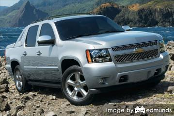 Insurance rates Chevy Avalanche in Toledo