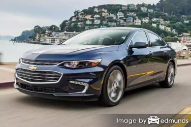 Insurance rates Chevy Malibu in Toledo
