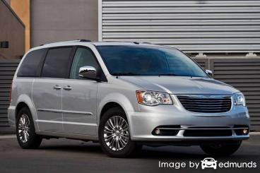 Insurance quote for Chrysler Town and Country in Toledo