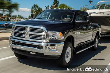 Insurance rates Dodge Ram 3500 in Toledo