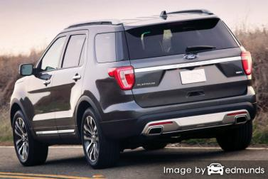 Insurance rates Ford Explorer in Toledo