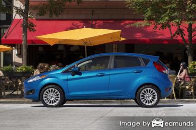 Insurance quote for Ford Fiesta in Toledo