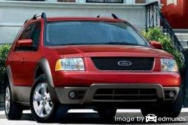 Insurance rates Ford Freestyle in Toledo