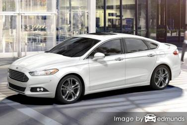 Discount Ford Fusion insurance