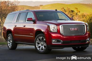 Insurance rates GMC Yukon in Toledo