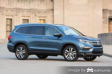 Insurance rates Honda Pilot in Toledo