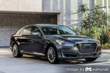 Insurance rates Hyundai G90 in Toledo