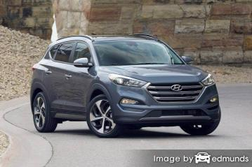 Insurance quote for Hyundai Tucson in Toledo