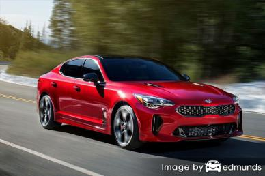 Insurance rates Kia Stinger in Toledo
