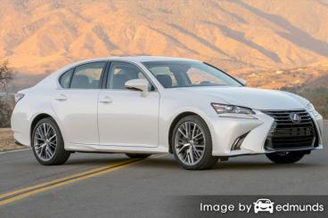 Insurance rates Lexus GS 350 in Toledo