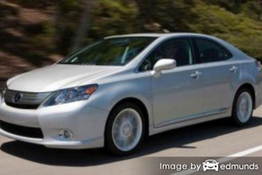 Insurance rates Lexus HS 250h in Toledo