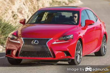 Insurance quote for Lexus IS 200t in Toledo