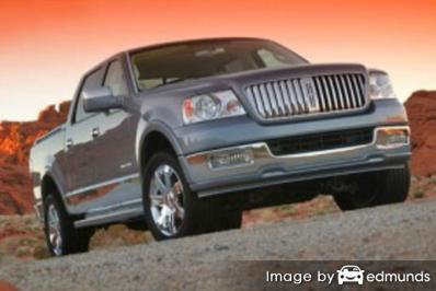 Insurance quote for Lincoln Mark LT in Toledo
