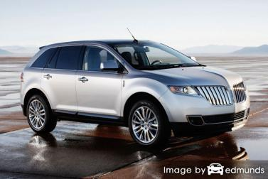 Insurance quote for Lincoln MKT in Toledo