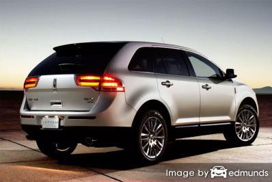 Insurance rates Lincoln MKX in Toledo