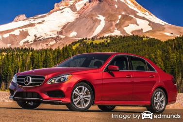Discount Mercedes-Benz E350 insurance
