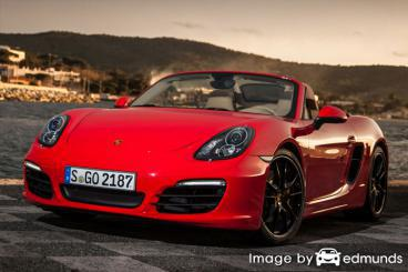 Insurance rates Porsche Boxster in Toledo