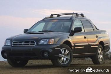 Discount Subaru Baja insurance
