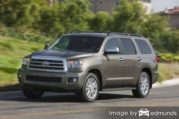 Insurance quote for Toyota Sequoia in Toledo