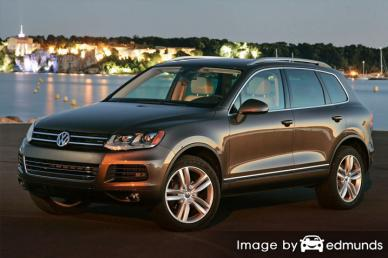 Insurance quote for Volkswagen Touareg in Toledo